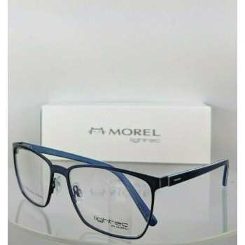 Lightec 8106 L Bb032 Morel Blue Eyeglasses