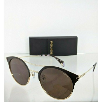 Police Goldeneye 7 SPL 500 0594 Gold & Brown Sunglasses