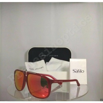 Marc Jacobs MJ 252/S SQ1UZ Red/Burgundy Sunglasses