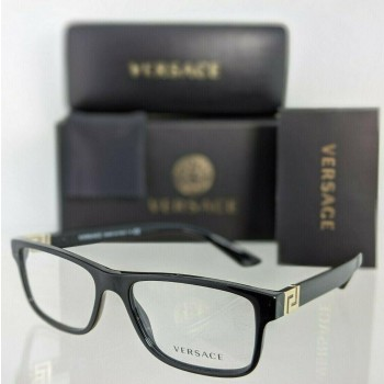 Versace VE 3211 GB1 Black Eyeglasses