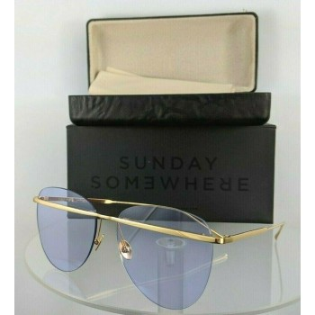 Sunday Somewhere Tallulah-Tpu Gold Sunglasses