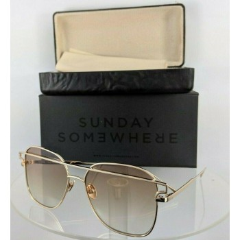 Sunday Somewhere Jesse 152 Wgo Gold Sunglasses