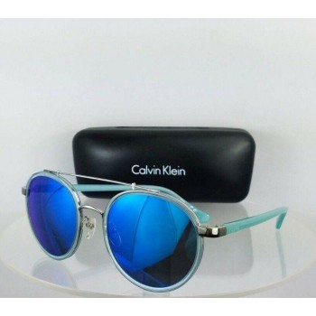Calvin Klein Ck 1225S 424 Light Blue Sunglasses