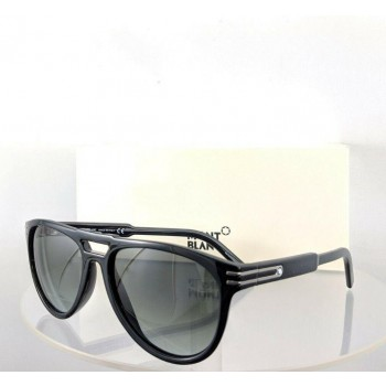 Mont Blanc MB 699S 01A Black Sunglasses
