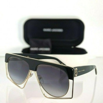 Marc Jacobs 312/S 8079O Black & Gold Sunglasses