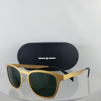 Italia 0506 120.120 Gold Sunglasses