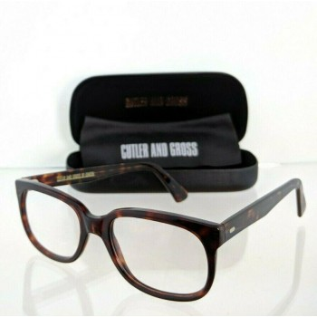 Cutler And Gross Of London 1022 D1 Brown Tortoise Eyeglasses