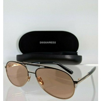 Dsquared 2 DQ 0280 38Z Black & Gold Sunglasses