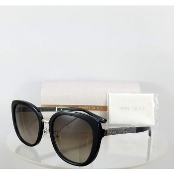 Jimmy Choo Tan/F/S FA3J6 Black Gold Sunglasses