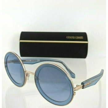 Roberto Cavalli RC1092 90W Blue & Gold Sunglasses