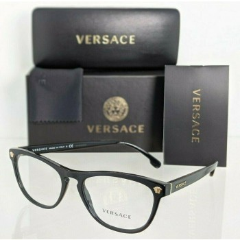 Versace VE 3260 GB1 Black & Gold Eyeglasses