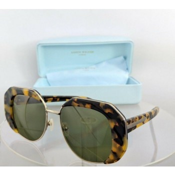 Karen Walker Domingo Tortoise Silver Sunglasses