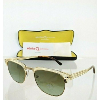 Etnia Barcelona MILE END CLHV Gold & Clear Sunglasses