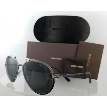 Tom Ford FT TF 508 08Z Grey Gunmetal Sunglasses