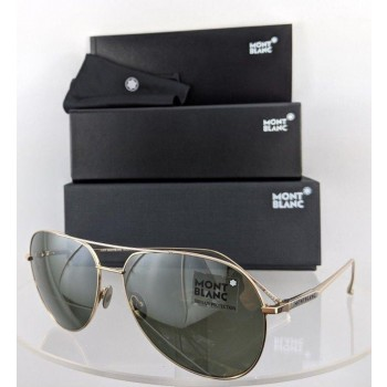 Mont Blanc MB 657/S 32Q Gold Sunglasses