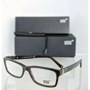 Mont Blanc MB443 056 Brown Eyeglasses