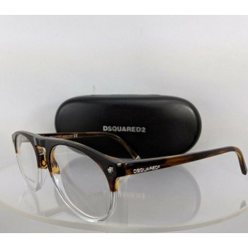 Dsquared 2 Dq 5074 056 Tortoise Clear Eyeglasses