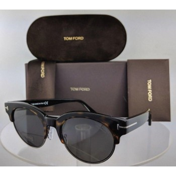 Tom Ford Henri-02 FT 598 52D Brown Tortoise Sunglasses