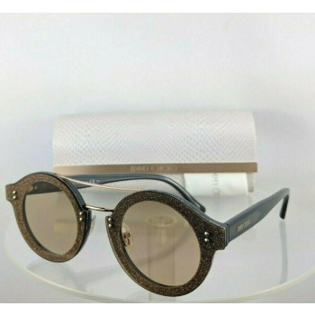 Jimmy Choo Montie/S 189 V9 Blue Brown Gold Sunglasses