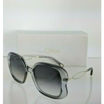 Chloe CE 740S 049 Gold & Grey Clear Sunglasses