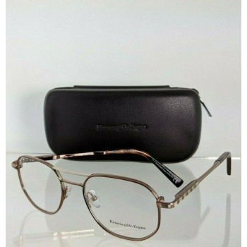 Ermenegildo Zegna EZ5117 038 Brown & Gold Eyeglasses