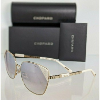 Chopard SCHC41S 300X Ivory & Gold Sunglasses