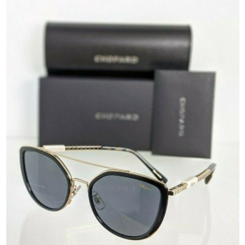 Chopard SCHC23S 300F Black & Gold Sunglasses