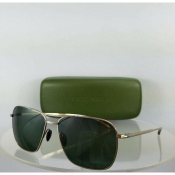 Masunaga 9007 #11 Gold Sunglasses