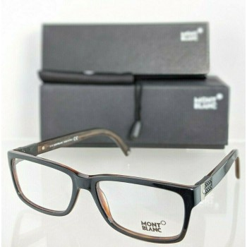 Mont Blanc MB443 001 Black & Brown Eyeglasses
