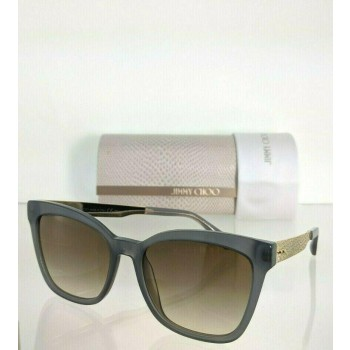 Jimmy Choo Junia/S UYRJD Grey & Gold Sunglasses