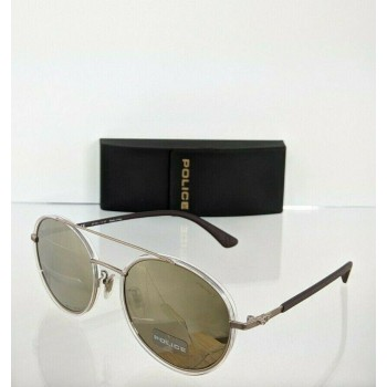 Police Coupe 1 SPL 870 8FFG Ivory & Gold Sunglasses