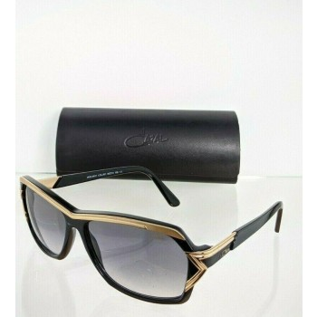 Cazal 8031 001 Gold & Black Sunglasses
