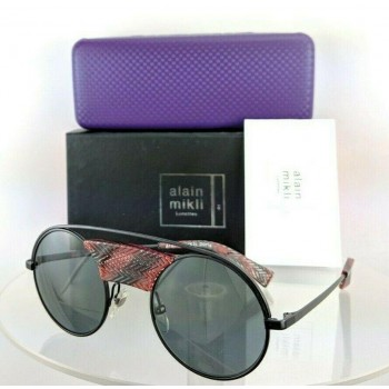 Alain Mikli Ao 4002 4110/87 Black Red Sunglasses