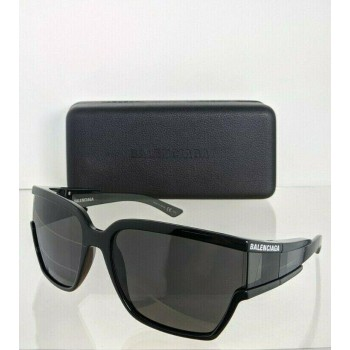 Balenciaga BB0039SA 001 Black Sunglasses