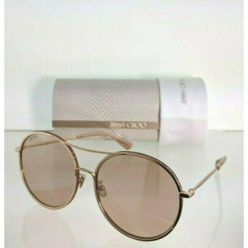 Jimmy Choo Leni/F/S EYR2S Pink Gold Sunglasses