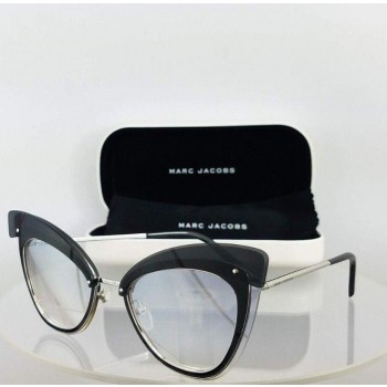 Marc Jacob 100/S 010FU Black/Silver Sunglasses