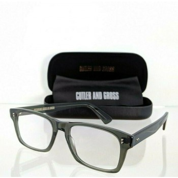 Cutler And Gross Of London 1168/2 AB Grey Clear Eyeglasses