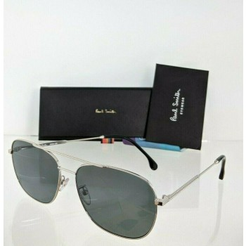 Paul Smith Avery PSSN007V2 01 Silver Sunglasses