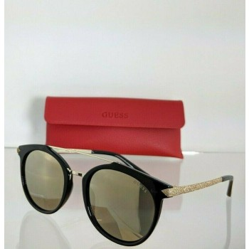 Guess GU 7532 01G Black & Gold Sunglasses