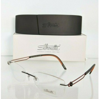 Silhouette SPX 4433 40 6055 Orange Eyeglasses
