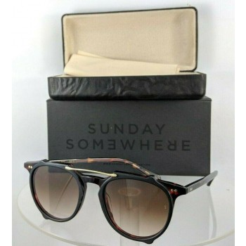 Sunday Somewhere Odin 168 Dct Black Tortoise Sunglasses