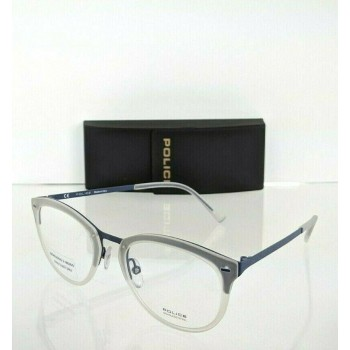 Police Triumph 2 VPL 283 08AS Blue Eyeglasses
