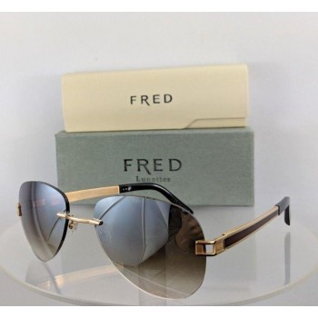 Fred 140 F1 Gold Brown Sunglasses