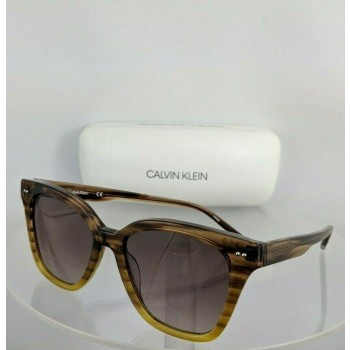 Calvin Klein CK 4359S 203 Brown & Yellow Sunglasses