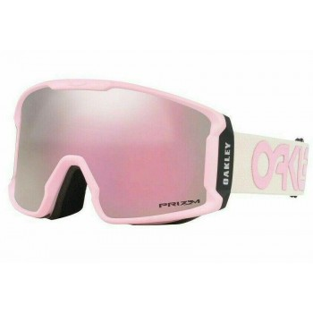 Oakley OO7093 23 Ivory Black Pink Snow Goggles
