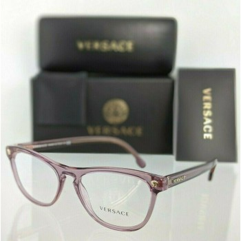 Versace VE 3260 5279 Pink/Purple Transparent Eyeglasses