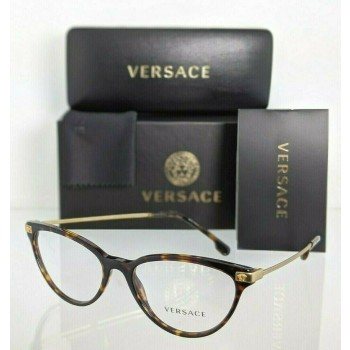Versace VE 3261 108 Tortoise & Gold Eyeglasses