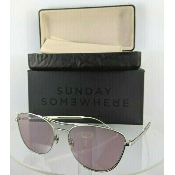 Sunday Somewhere Jarjar 156 Silver Sunglasses
