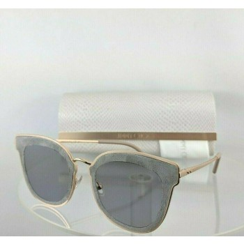 Jimmy Choo Nile/S 2F72K Rose Gold Grey Sunglasses