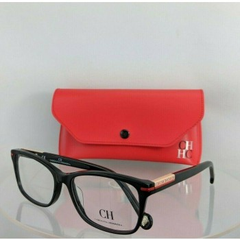Carolina Herrera VHE729 0700 Black & Pink Eyeglasses